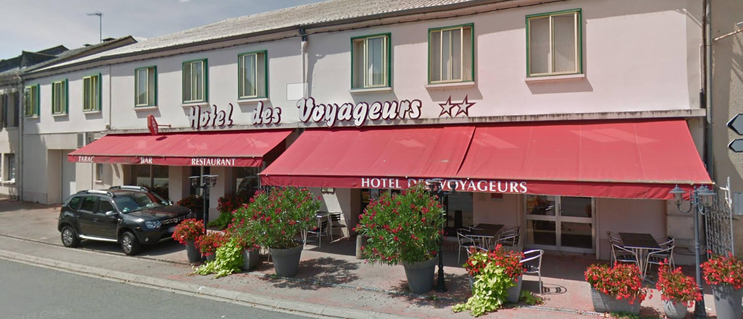 Le restaurant de l'hôtel des voyageurs